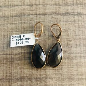 Lever with Pear Earrings